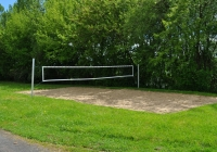 Der Volleyballplatz