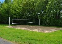 Der Volleyballplatz