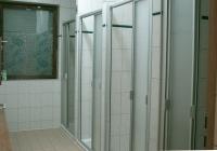 Die Duschkabinen