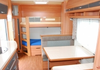 Wohnwagen (Doppelstockbett)